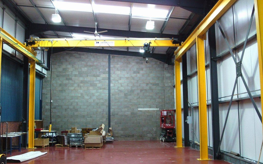Customer Feedback – 2 Ton Crane for new warehouse